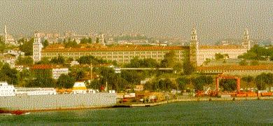 Former Barrack Hospital, from Topkapi